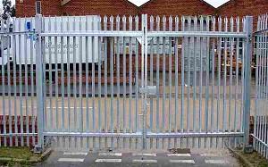 Steel Palisade Gates Pride Fencing Amp Gates Of Kent Amp Sussex